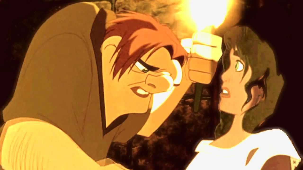 If I Go Crazy Quasimodo And Esmeralda Youtube