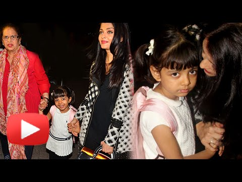 (VIDEO) Aishwarya Rai Leaves For Cannes 2016 With Baby Aaradhya