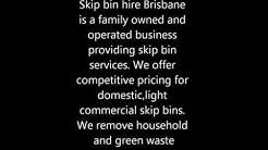 Skip Bin Hire Brisbane