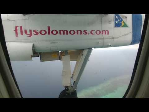 5 Fly Solomon Airlines Honiara to Gizo