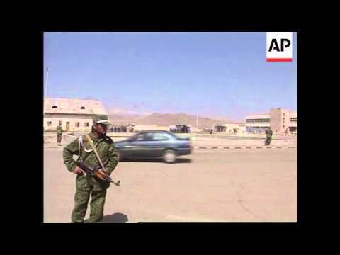 Pakistan President arriving in Afghanistan