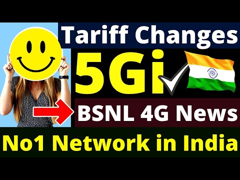 Mobile Tariff Changes, 5Gi Technology India, BSNL 4G News, No1 Network in India, Jio Free Offer 2021