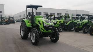 SD1004 Tractor with sunshade 100hp 4wd