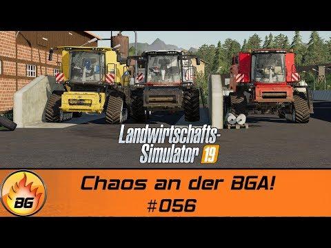 LS19 - BG FARM #056   Chaos an der BGA!   FS19 Ebelsbach   Lets Play [HD]