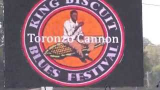 Toronzo Cannon @ the King Biscuit Blues Festival 2014 (2of2)