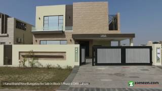 BRAND NEW OUTSTANDING DESIGN BEAUTIFUL BUNGALOW IS AVAILABLE FOR SALE IN DHA PHASE 6 LAHORE