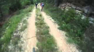VTT en Lozère et Gard - Lanuéjols - Aiguebonne - Piste de la Moline