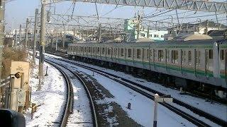 【前面展望】 東海道貨物線・山手貨物線小田原-新宿 おはようライナー新宿26号 thumbnail