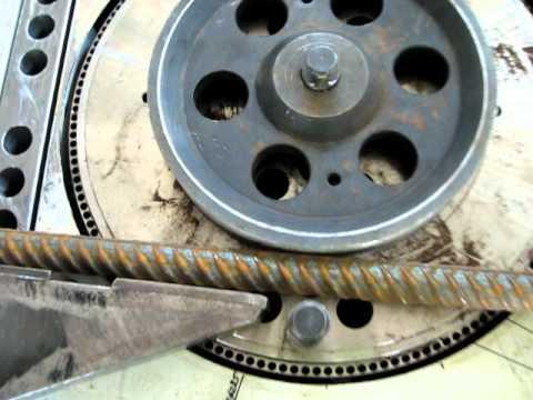 Bending rebar diameter 40 (2)