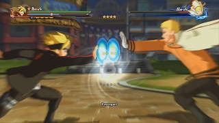 Naruto Ninja Storm 4 Road to Boruto PC 60 FPS - Boruto vs Hokage Naruto Boss Fight English Dubbed
