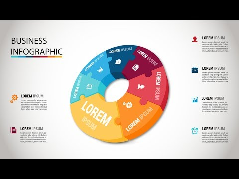 Adobe Illustrator CC Tutorials | Business Info-Graphics | 3D Design