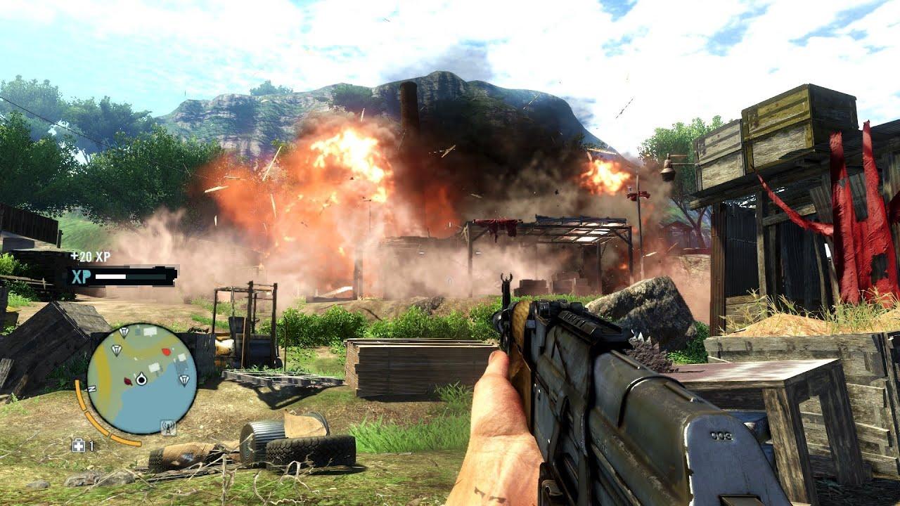 Far Cry 3 Gameplay Pc Full Hd 1080p Nvidia Geforce Gt 650m