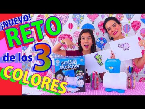 Reto De los 3 COLORES con Un PROYECTOR de DIBUJOS | AnaNana Toys