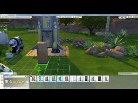 Как поворачивать предметы в The Sims 4