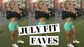 July Fitness Favorites 2016
