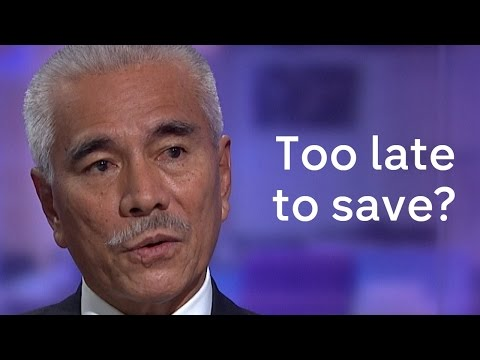 Kiribati president on combating Climate Change
