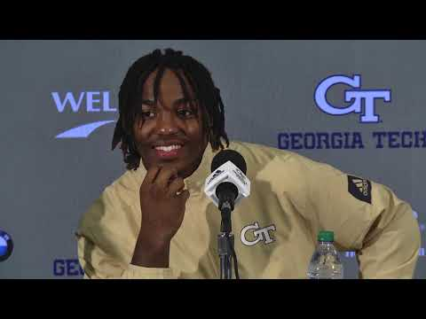 Georgia Tech Student-Athletes Postgame Press Conference (The Citadel - 9/14/2019)