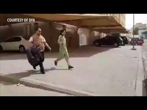 DFA video shows OFW rescue in Kuwait - Part 1