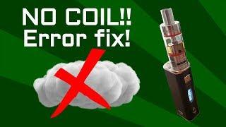 NO COIL error fix