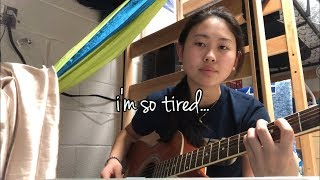 i'm so tired... Lauv, Troye Sivan Cover