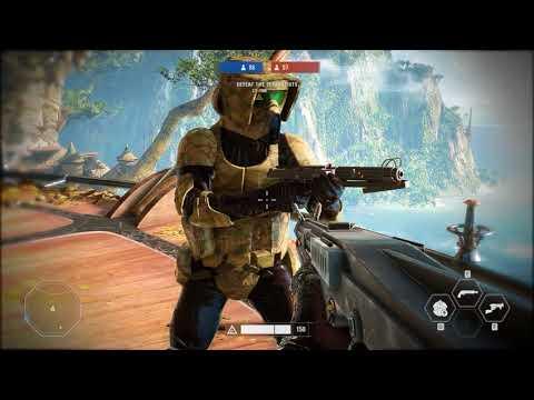 Battlefront 2 Kashyyyk 41st Clone Troopers Mod