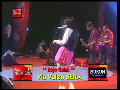 Bojoku galak ~ Via Vallen feat OM Sera di Stadion Sunggingan Boyolali tahun 2017