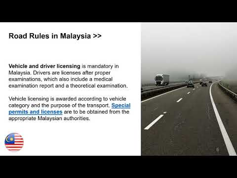 Road Transportation Law in Malaysia