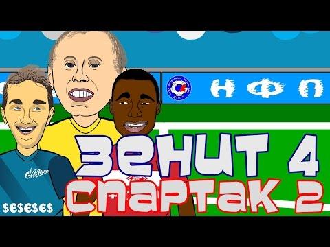 Зенит Vs Спартак (обзор матча от Мультбол)