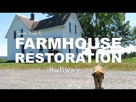 Farm House Restoration  Finishing the Hallway  Ep. 6