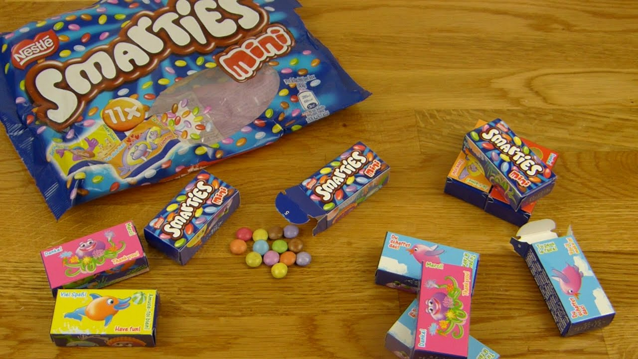 Nestle Smarties Mini - YouTube Smarties Mini