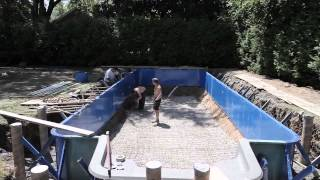 Construction d'une Piscine Hippocampe