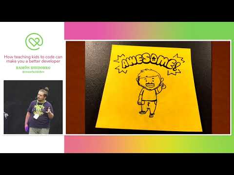 Heart Of Clojure 2019 - Ramón Huidobro - How Teaching Kids To Code Can Make You A Better Developer