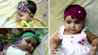 3 DIY Headbands | Babies and Toddlers | From Old Clothes
