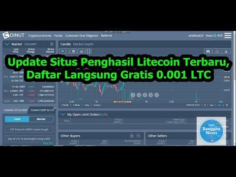 Update Situs Penghasil Litecoin,Baru Daftar Gratis 0.001 LTC