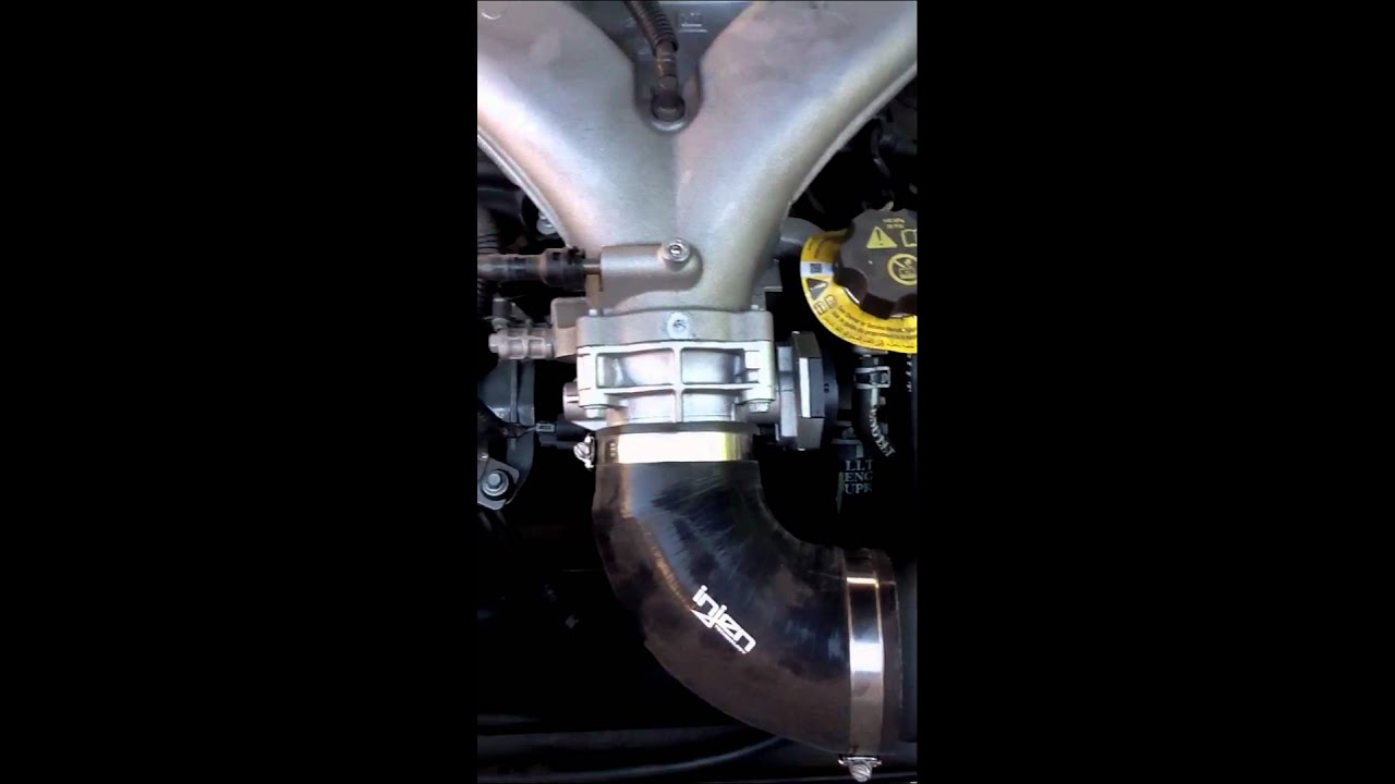 My engine with vmax ported throttle body