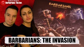 Barbarians: The Invasion Board Game Video Review