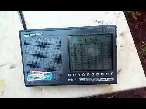 6765&8743 kHz Bangkok Meteorological Radio