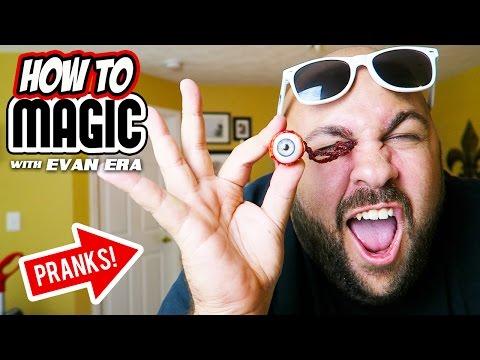 Generate 10 Impossible Magic Body Pranks! Images