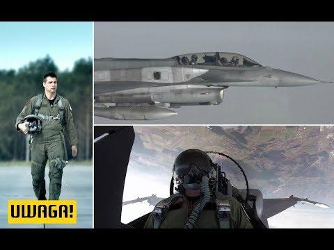 """Piloci polskich F16. """"Jestem przygotowany, by bronić ojczyznę i nieść śmierć"""" UWAGA! TVN"""