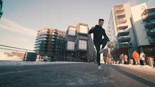 Way to Cold and Slippery for Freestyle, Oslo // VLOG
