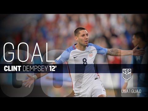 MNT vs. Guatemala: Clint Dempsey Goal - March 29, 2016