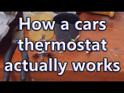 How a thermostat actually works (Destructive Testing!!!)