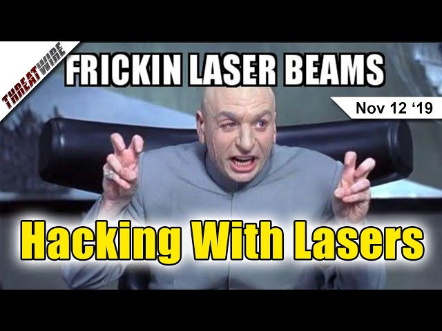 Hacking Smart Speakers With Lasers - ThreatWire