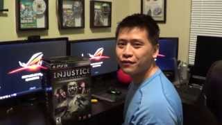Injustice Gods Among Us Collector's Edition Unboxing Review North American Version