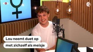 DUET: Vlaamse Lou (eerst Louise) zingt met zichzelf