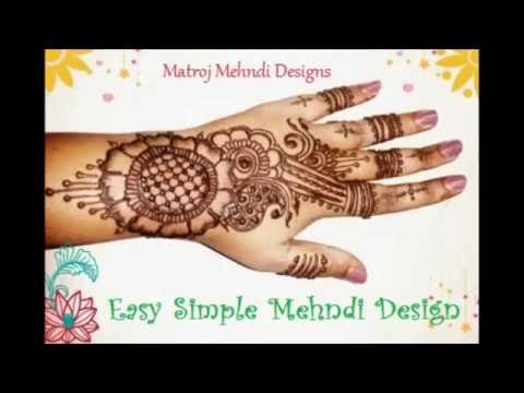 How To Easy Simple Mehndi Henna Designs Step By Step Tutorials