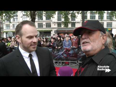 The Amazing Spider-Man producer Avi Arad interview at London premiere