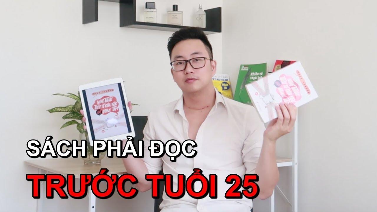 3 Quyển Sách Phải Đọc Trước Tuổi 25