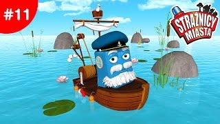 Strażnicy Miasta Rybak Fred na wzburzonych wodach