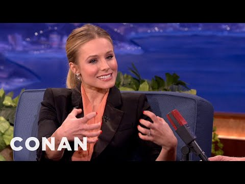 Kristen Bell Defines Two Kinds Of Man Butts - CONAN on TBS